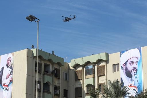 イラクで新たな空爆、シーア派武装勢力の車列狙う 「米軍が実施」と国営テレビ