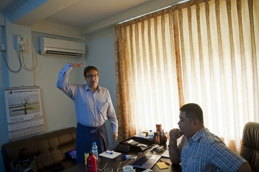 ミャンマーの「ゴールドラッシュ」、商機求めて外国人が集まる