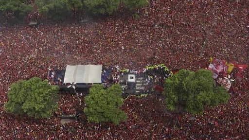 動画:38年ぶりの優勝祝うファンの「海」 リベルタ杯制覇のフラメンゴがパレード