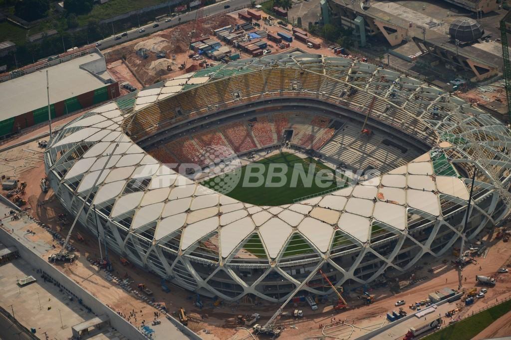 イングランド初戦の会場、年内完成予定 2014年ブラジルW杯