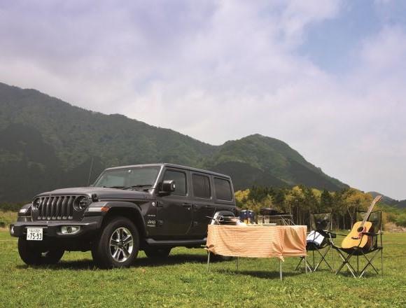 シンプル・イズ・ベスト!ジープ・ラングラーで富士山麓をデイ・キャンプしました。