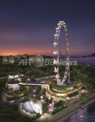 シンガポール、世界最大観覧車が稼働開始