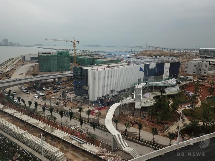 「香港〜マカオ〜珠海」結ぶ橋の給電施設完成